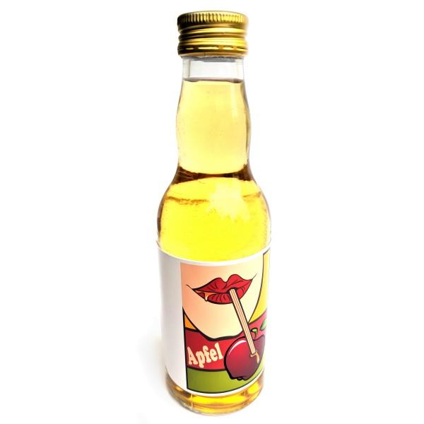 Apfel-Saft 200 ml Glasflasche mit bedrucktem Label - pfandfrei