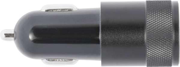 KFZ-Ladestecker 'Strong' aus ABS-Kunststoff ink. USB & USB-C