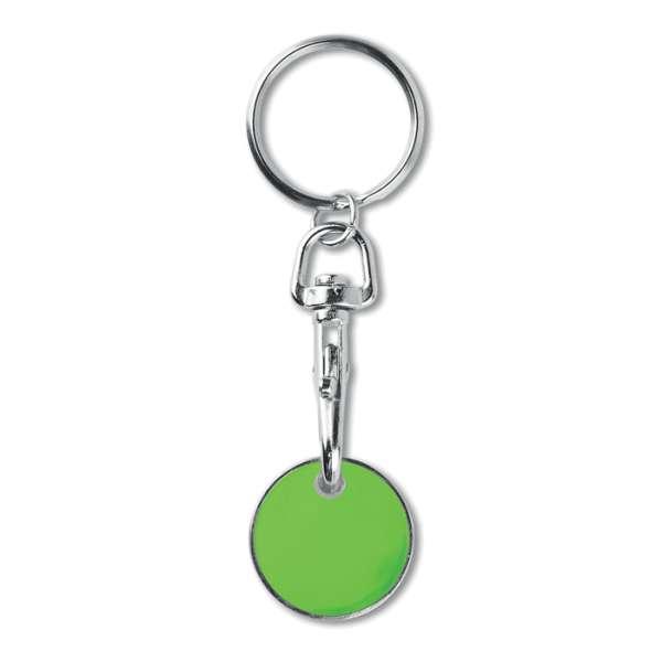Schlüsselring mit Chip EUR TOKENRING