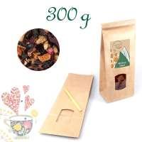 Blockbodenbeutel Big, Kraftpapier, Inhalt 300 g