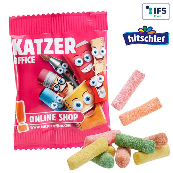 Mini HITSCHIES Kaubonbons Sauer Mix