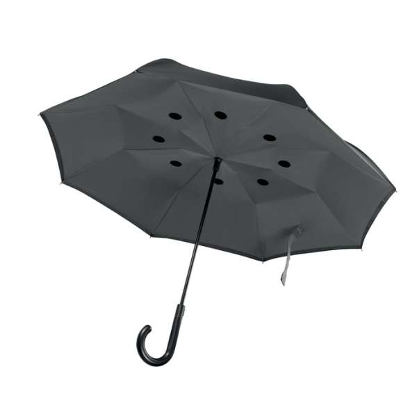 Reversibler Regenschirm DUNDEE
