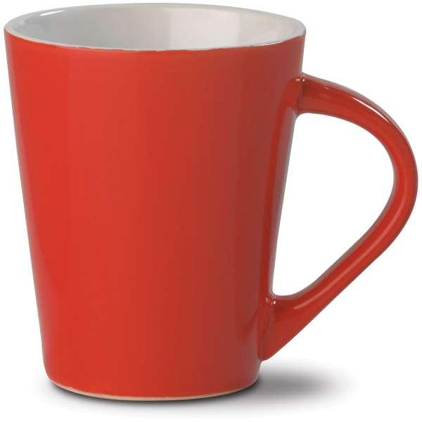Kaffeebecher Nice hellrot 250ml