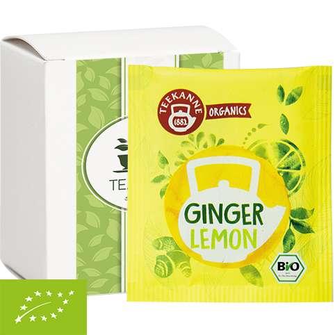 Bio Beuteltee Ginger Lemon, 10 Stück, Faltschachtel