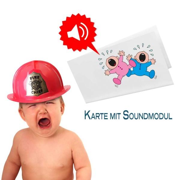 Soundgrußkarte DIN lang für Mailing