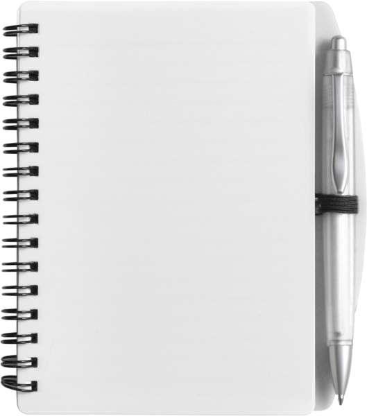 Notizbuch 'Spektrum' aus Kunststoff