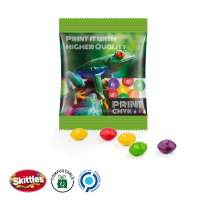 Skittles Fruits Minitüte, kompostierbare Folie, transparent