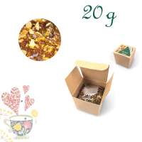 Faltschachtel, Recyclingkarton, Inhalt 20 g