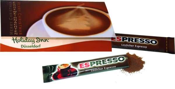 Klappkärtchen Kaffeepause
