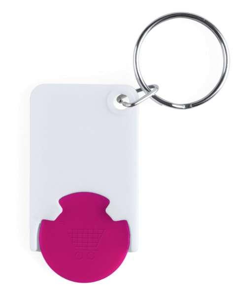 Schlüsselanhänger mit Einkaufswagenchip Zabax