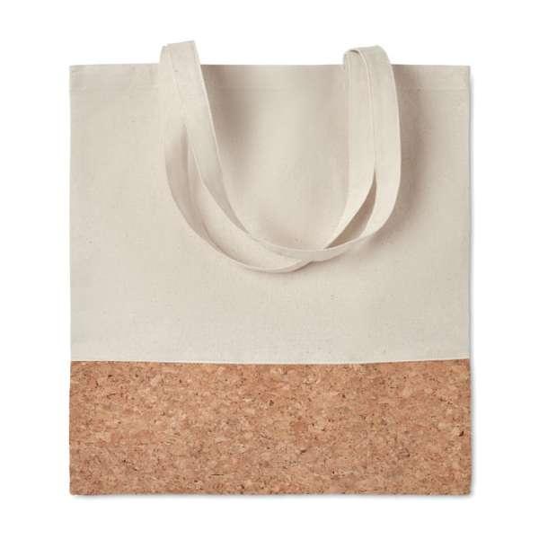 Einkaufstasche mit Korkbesatz ILLA TOTE