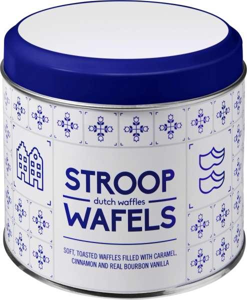 Metalldose für Stroopwafel 'Amsterdam'