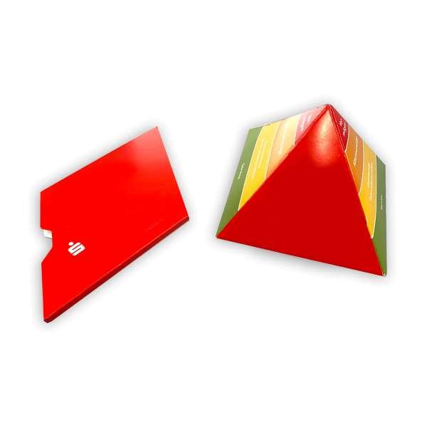 Pop-Up Pyramide - Springpyramide in Kartonhülle
