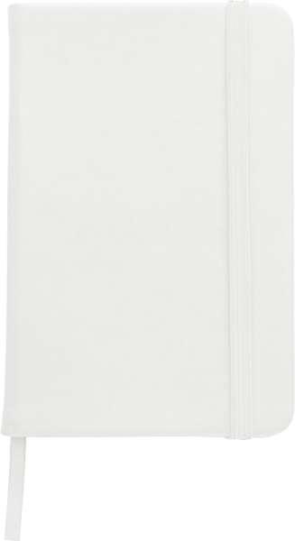 Notizbuch 'Pure' aus Kunststoff (ca. DIN A5)