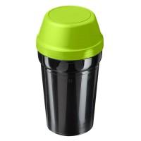 schwarz, grasgrün