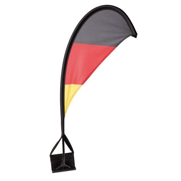"""Autofahne """"Windsegel"""" Deutschland"""