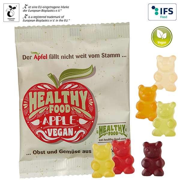 Vegane XXL-Bärchen im kompostierbaren Tütchen