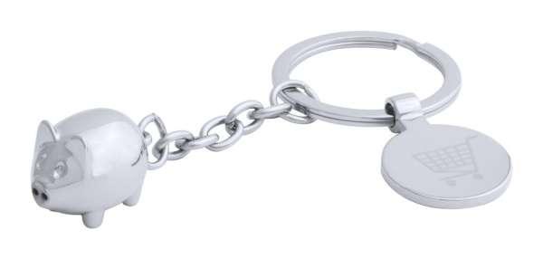 Schlüsselanhänger mit Einkaufswagen-Chip Hoinzo