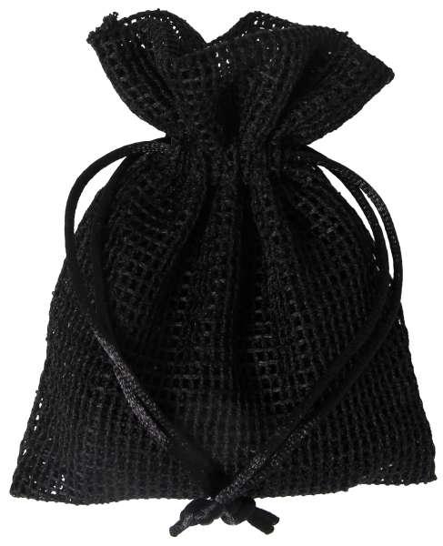 Netz-Säckchen 10 x 12,5cm schwarz