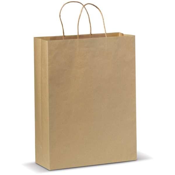 Große Papiertasche im Eco Look