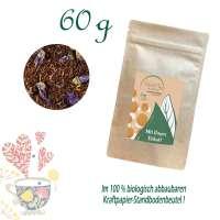 Standbodenbeutel Medium, Kraftpapier, aluminiumfrei, Inhalt 60 g