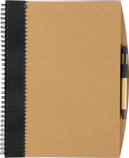Notizbuch 'Lyrics' aus recycletem Karton mit Stift