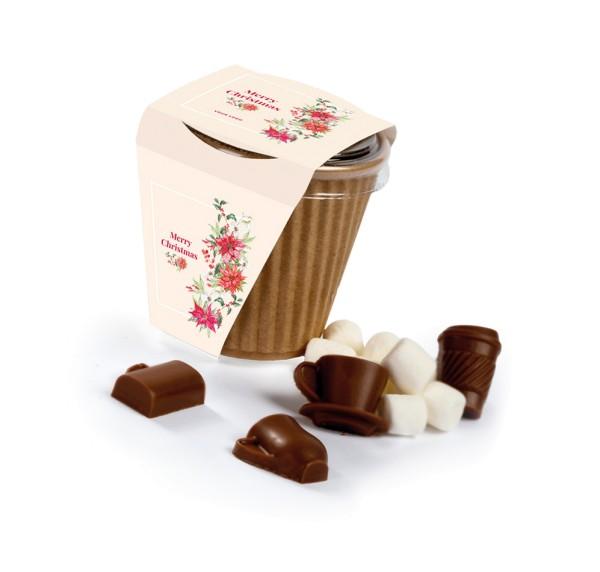 Trinkschokoladen-Mischung