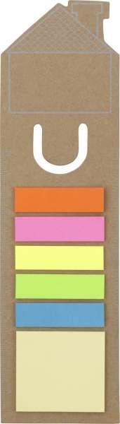 Lesezeichen 'Haus' aus Pappe