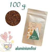 Standbodenbeutel Big, Kraftpapier, aluminiumfrei, Inhalt 100 g