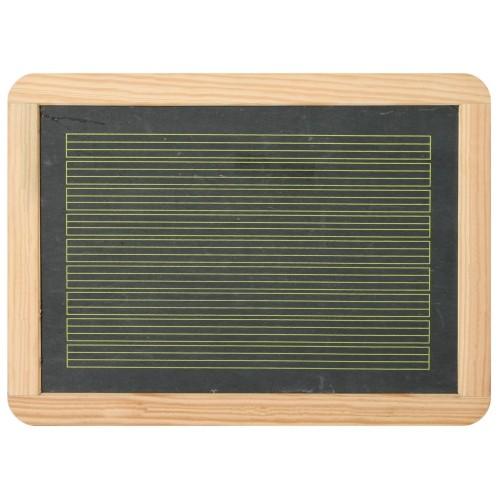 Schiefertafel mit Linien 30 x 22 cm