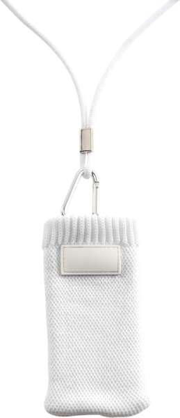 Handyhalter im Socken-Design aus Polyester inklusive Kordel mit Sicherheitsverschluss